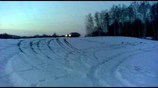 Audi 100 quattro 2,3 B2 1987m on snow