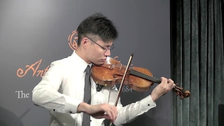 What Is A Antonio Stradivari Violin Look This 333 Year Old One