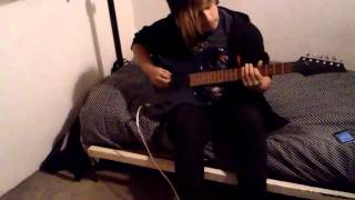 ich will cover guitar(rammstein)