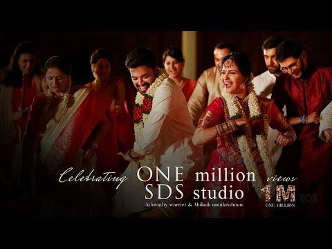 Actress Ashwathy Warrier & Abilash Unnikrishnan,   I'M A Mallu Wedding Lip Dub by SDS Studio thumbnail