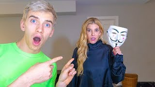 GAME MASTER is REBECCA ZAMOLO CAUGHT in SHARER FAMILY HOUSE ESCAPE ROOM!! (Mystery Evidence Reveal)