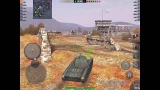 WoT Blitz AMX CDC первое впечатление