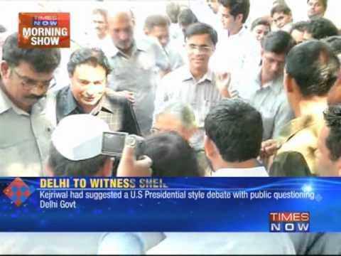 Sheila Dikshit - Arvind Kejriwal Debate Soon