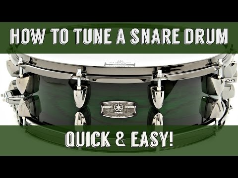 How To Tune A Snare Drum: Perfect Sound in Less Than 2 Minutes w/Rob Brown