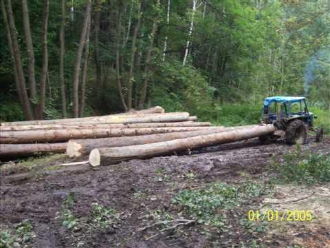 Zetor 50 Super v lesní úpravě