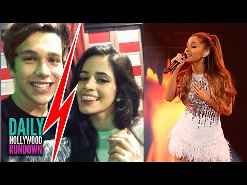 Austin Mahone Splits W  Camila Cabello? - Ariana Grande's New Single santa Tell Me Listen (dhr) video