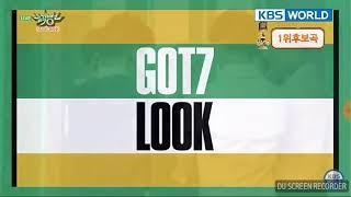 Look - Got7 @ music bank .