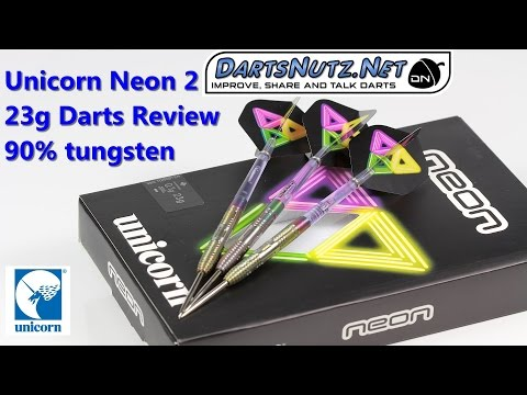 Unicorn Neon 2 23g darts review