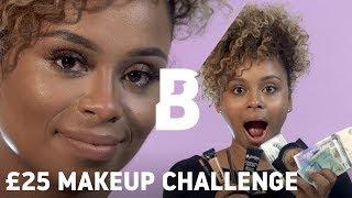 £25 MAKEUP CHALLENGE with Keshia East | Beauty Bay