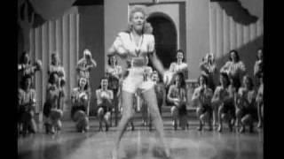 Betty Grable - Footlight Serenade (1942) -