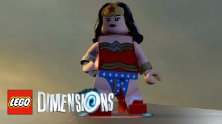 LEGO Dimensions - Wonder Woman Free Roam With Commentary