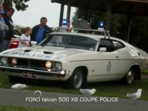 FALCON 500 HARDTOP COUPE POLICE CAR sirens& LIGHTS