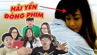 Schannel REACTION - SỐC NẶNG KHI XEM HẢI YẾN ĐÓNG MV NHƯ PHIM HÀN QUỐC!