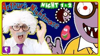 ARTHUR'S Nightmare ADVENTURE Video Game!  HobbyHarry Plays Arthur on HobbyKidsTV