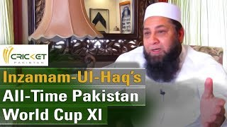 Inzamam-ul-Haq's All-time Pakistan World Cup XI