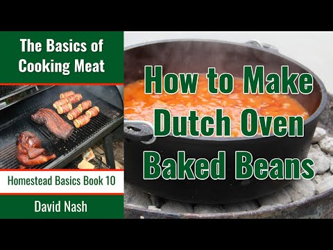 Recipe Dutch Oven Hamburger Bean Bake