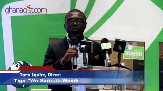 "Tara Squire speak on Tigo Big Six Promo ""Wo suro aa wondi""    GhanaGist.Com Video"