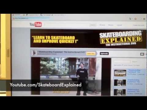 "Rent ""Skateboarding Explained The Instructional DVD"" how to trick tips video"