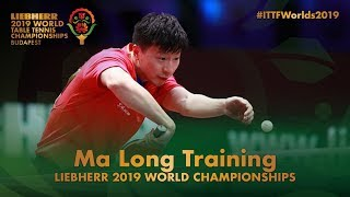 Ma Long Training | Liebherr 2019 World Table Tennis Championships