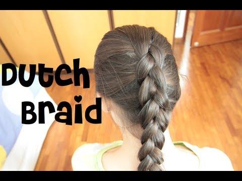How to do a Dutch Braid on Yourself How to do a Dutch Braid on