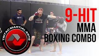 9-Hit MMA Boxing Combos - TRITAC Striking Flow Lesson