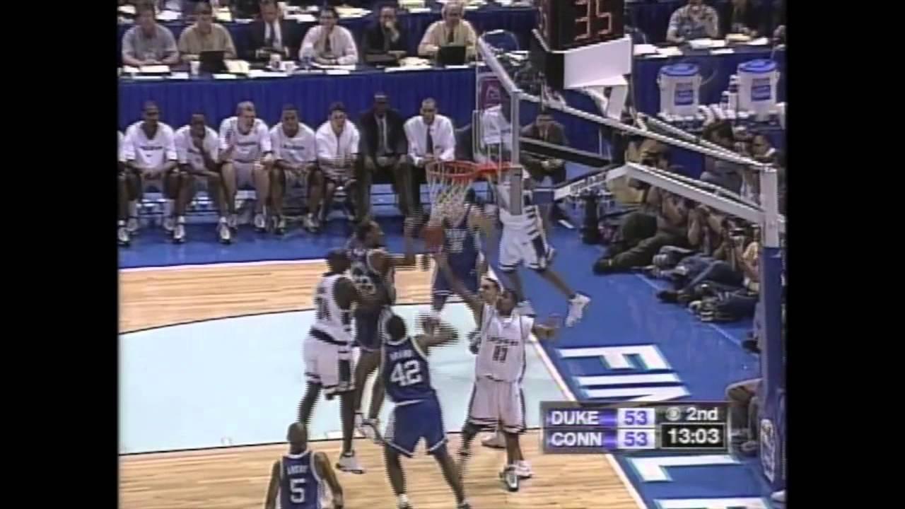 1999 NCAA Tournament - National Championship - UConn vs. Duke (Full Game) - YouTube