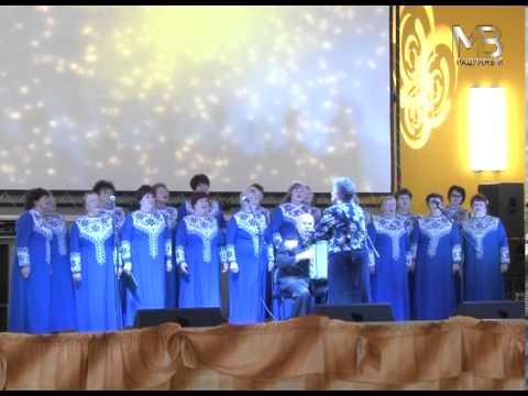 Встреча хоров ветеранов Радужного и Судогды.