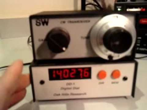 A digital dial for the sw-20 QRP trx