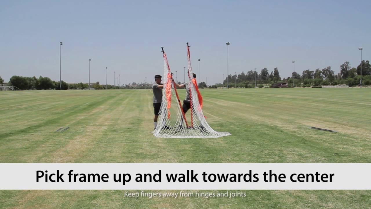 bownet soccer goal instructions
