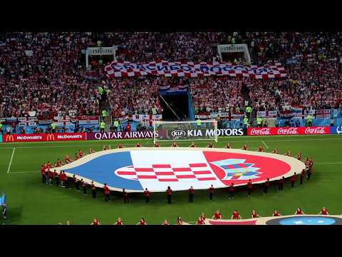 Croatia - England Pre-match Ceremony (2018 FIFA World Cup, match 62) thumbnail