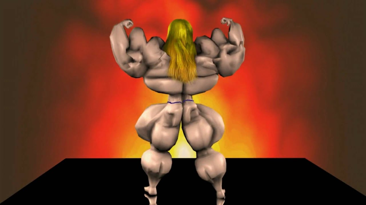 Huge muscle women in animated videos fucking videos