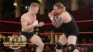 Wolfgang punishes Tyler Bate in a key Semifinals Match: WWE United Kingdom Championship Tournament