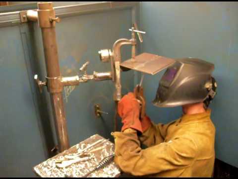 Overhead V-Groove welding