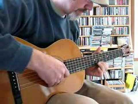 American Conservatory parlor guitar - tour and demo