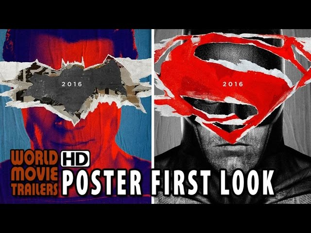 Batman v Superman: Dawn of Justice Poster First Look (2015) HD