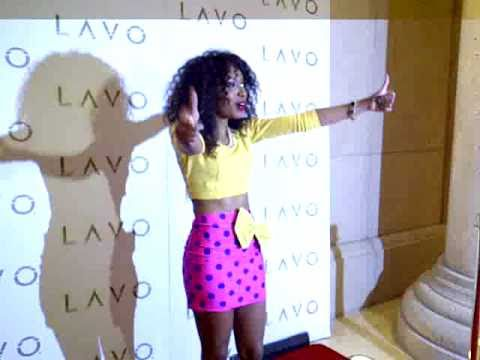 Wynter Gordon Celebrates Number 1 Song 'Dirty Talk' At LAVO Las Vegas Red Carpet