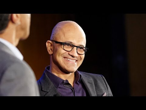 Microsoft CEO Satya Nadella on hitting refresh and seizing the opportunity of the digital revolution