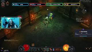 Playing some Diablo. come join me while I do some keys. Check out My Gofundme Page