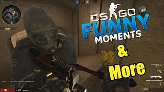 VAC WALLBANG!!- CS GO Funny Moments & More in Competitive