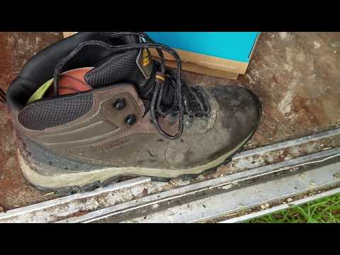 Columbia Newton Ridge Waterproof.  Best shoes for professional lawn care or no?