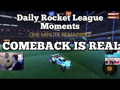 Daily Rocket League Moments: COMEBACK IS REAL