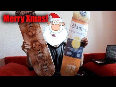 Ich verschenke Boards | Frohe Weihnachten !