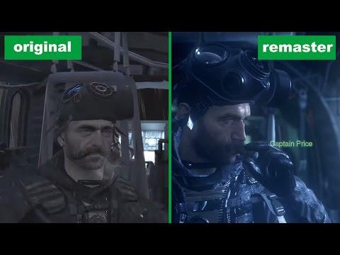 Сравнение графики Call of Duty 4: Modern Warfare — ремастер и оригинал (18+)