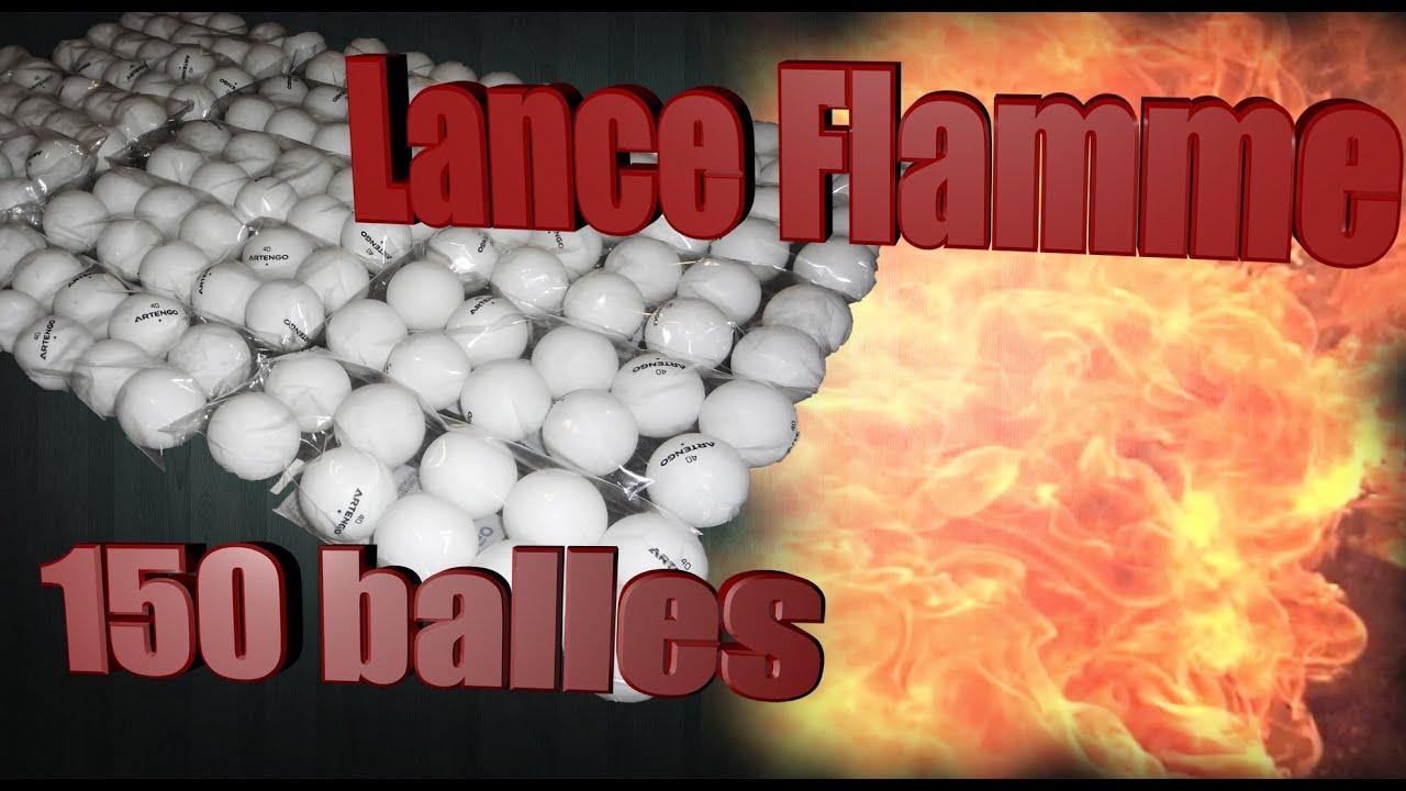 Fabrication Balle de Ping Pong 150 Balles de Ping-pong