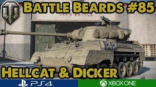 WoT - HELLCAT & DICKER MAX - Battle Beards #85 (Xbox/PS4)