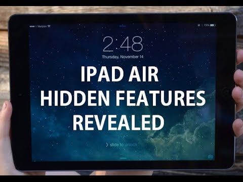 iPad Air - Hidden Features Revealed on iOS 7 - Tips and Tricks + More