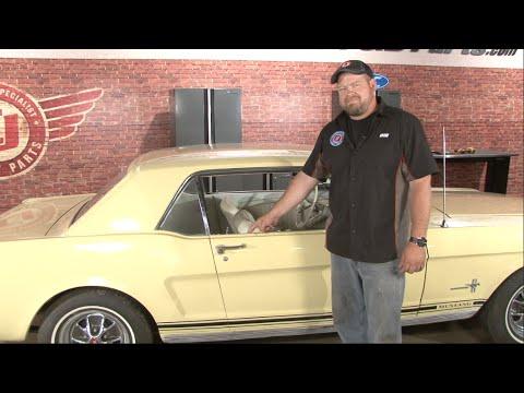Mustang Beltline Weatherstrip Kit Install 1965-1966