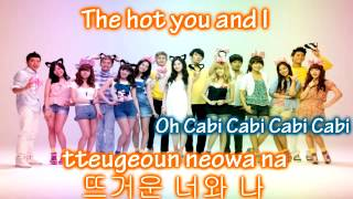 Watch Girls Generation Cabi Song video