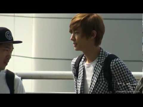 [Fancam] 120609 EXO-K at Incheon airport (Chanyeol Focus) Music Videos