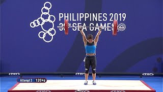 RELIVE: Hidilyn Diaz's gold-medal winning performance | 2019 SEA Games